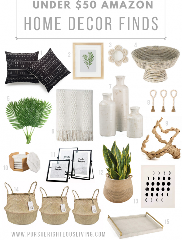 Affordable Home Decor Finds on Amazon