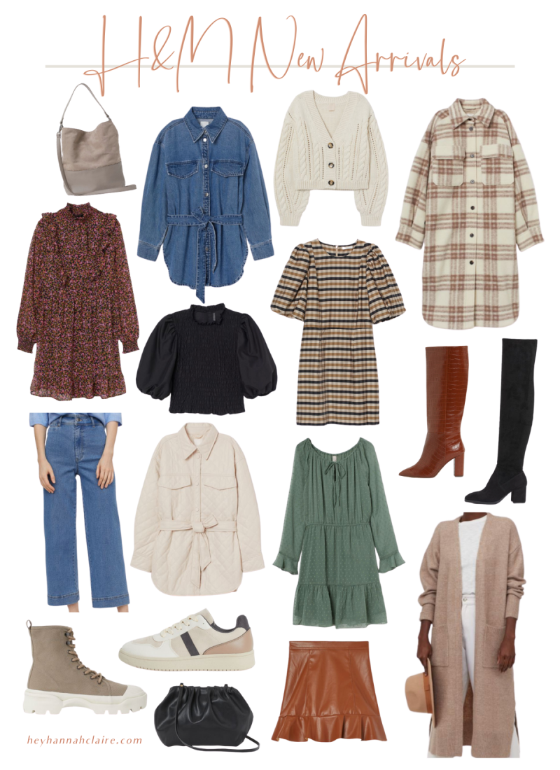 H&M Affordable New Arrivals for Fall