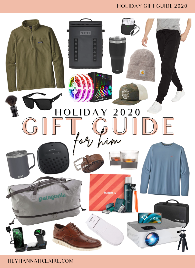 Holiday Gift Guide 2020: For Him